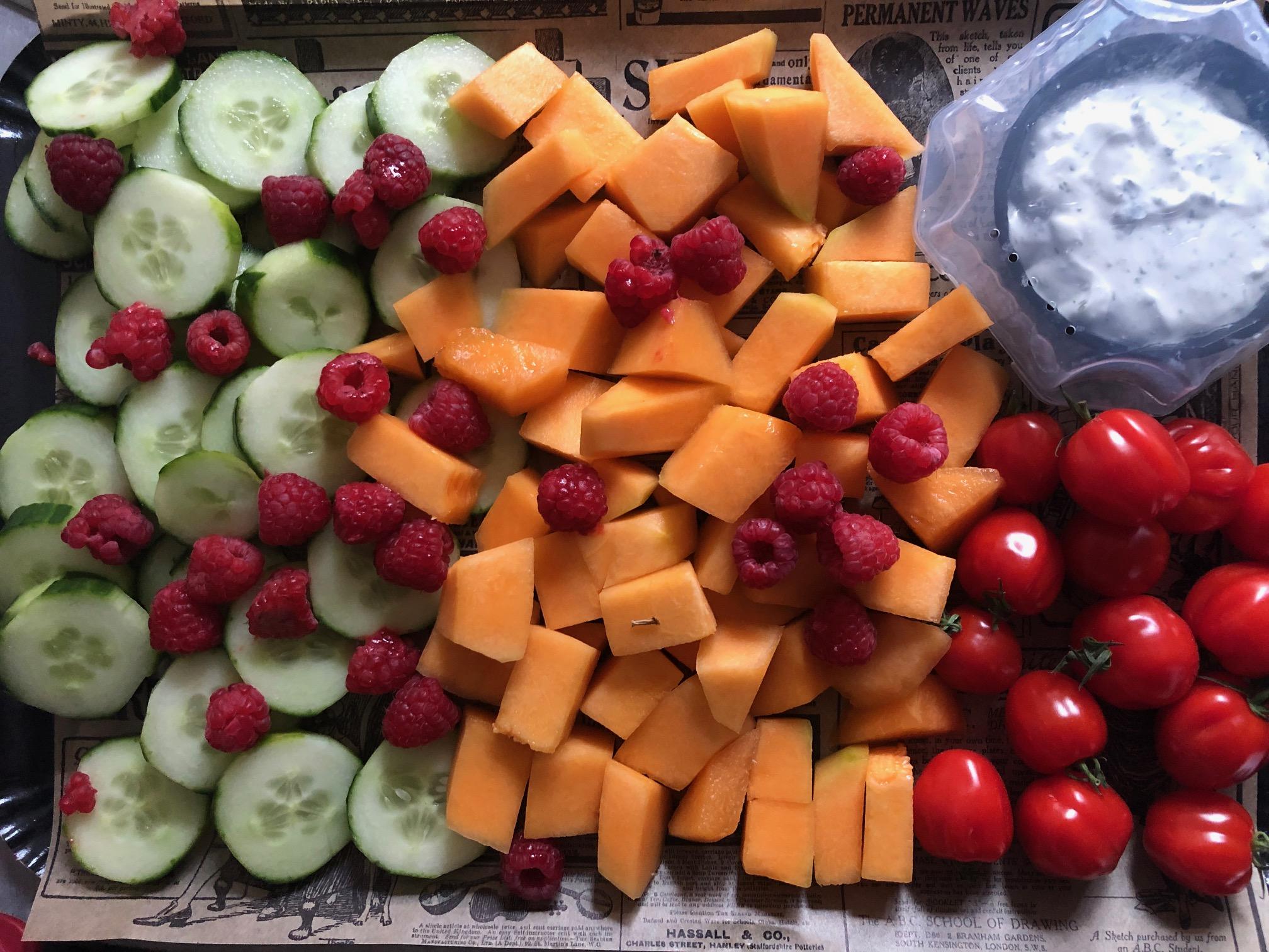 planche vegetarienne