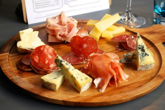 planche de chacuterie fromage